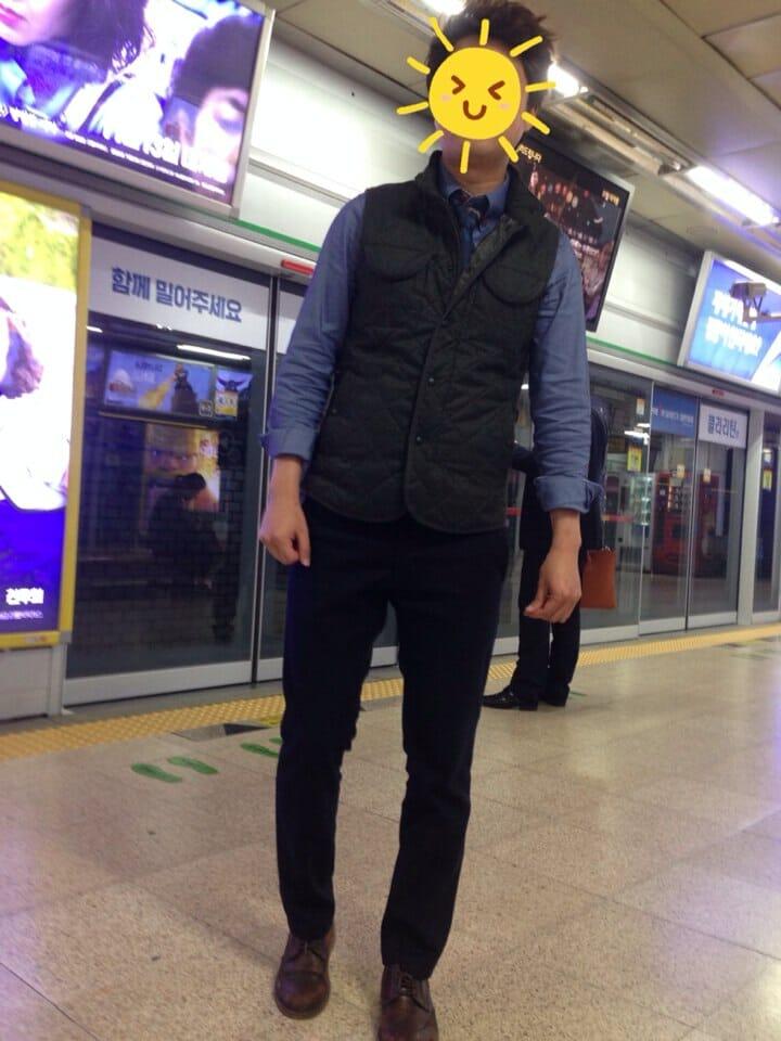 이상종 삼성역에서 지하철 기달림