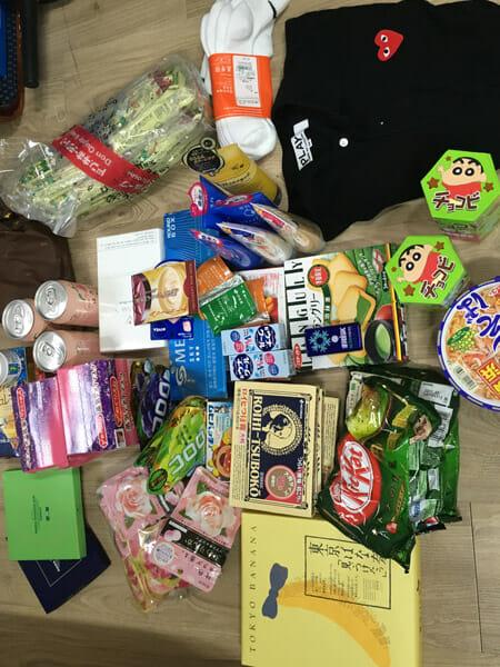 오사카 쇼핑