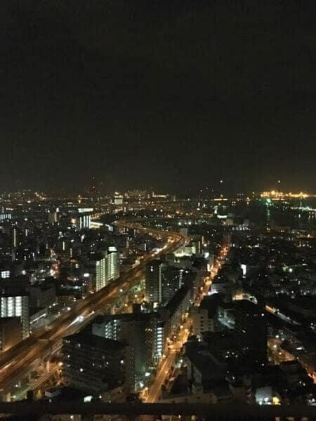 베이타워 야경