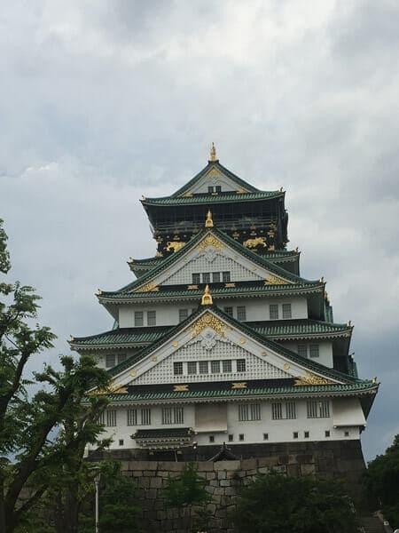 오사카성 여행