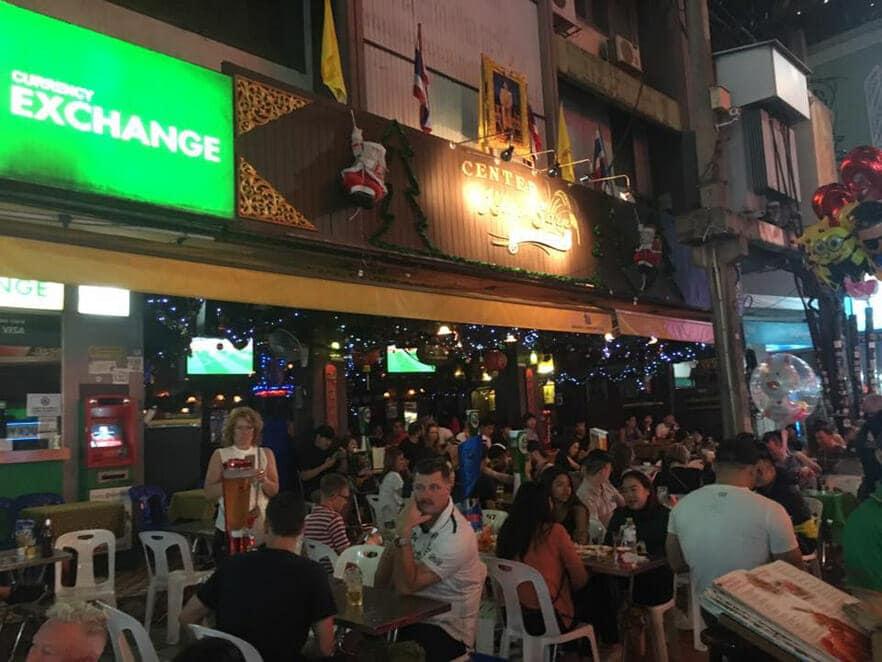 카오산 로드 술집