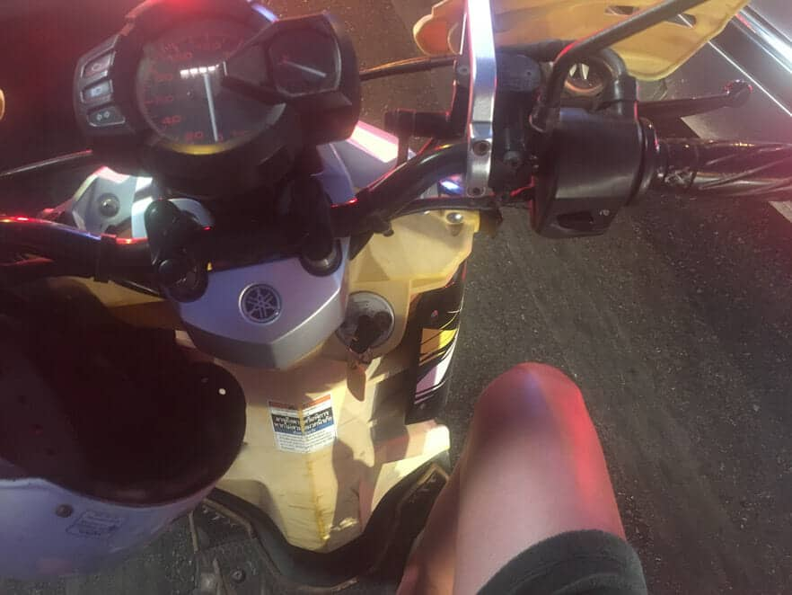 오토바이 렌탈